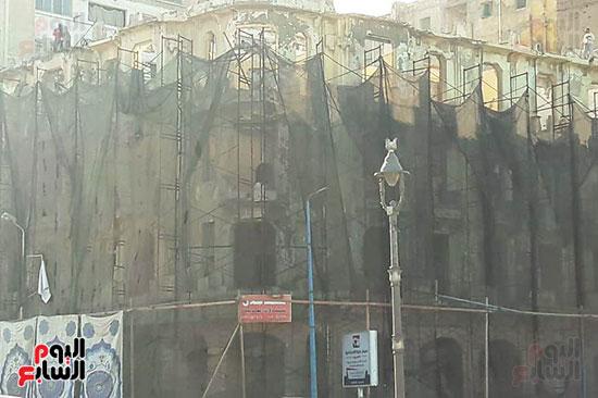 استمرار هدم المبانى التراثية بالإسكندرية (13)