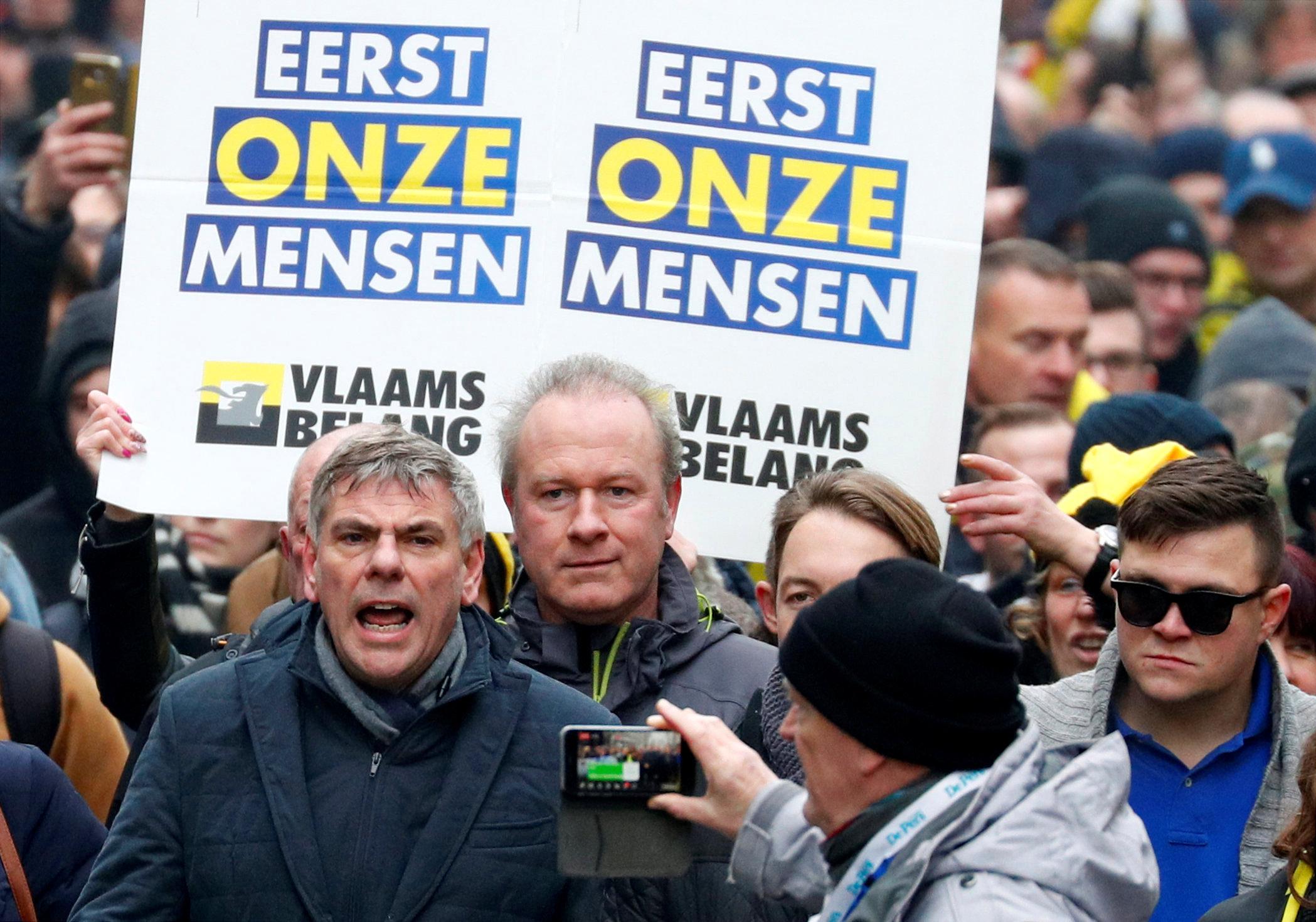 مظاهرات بروكسل (2)