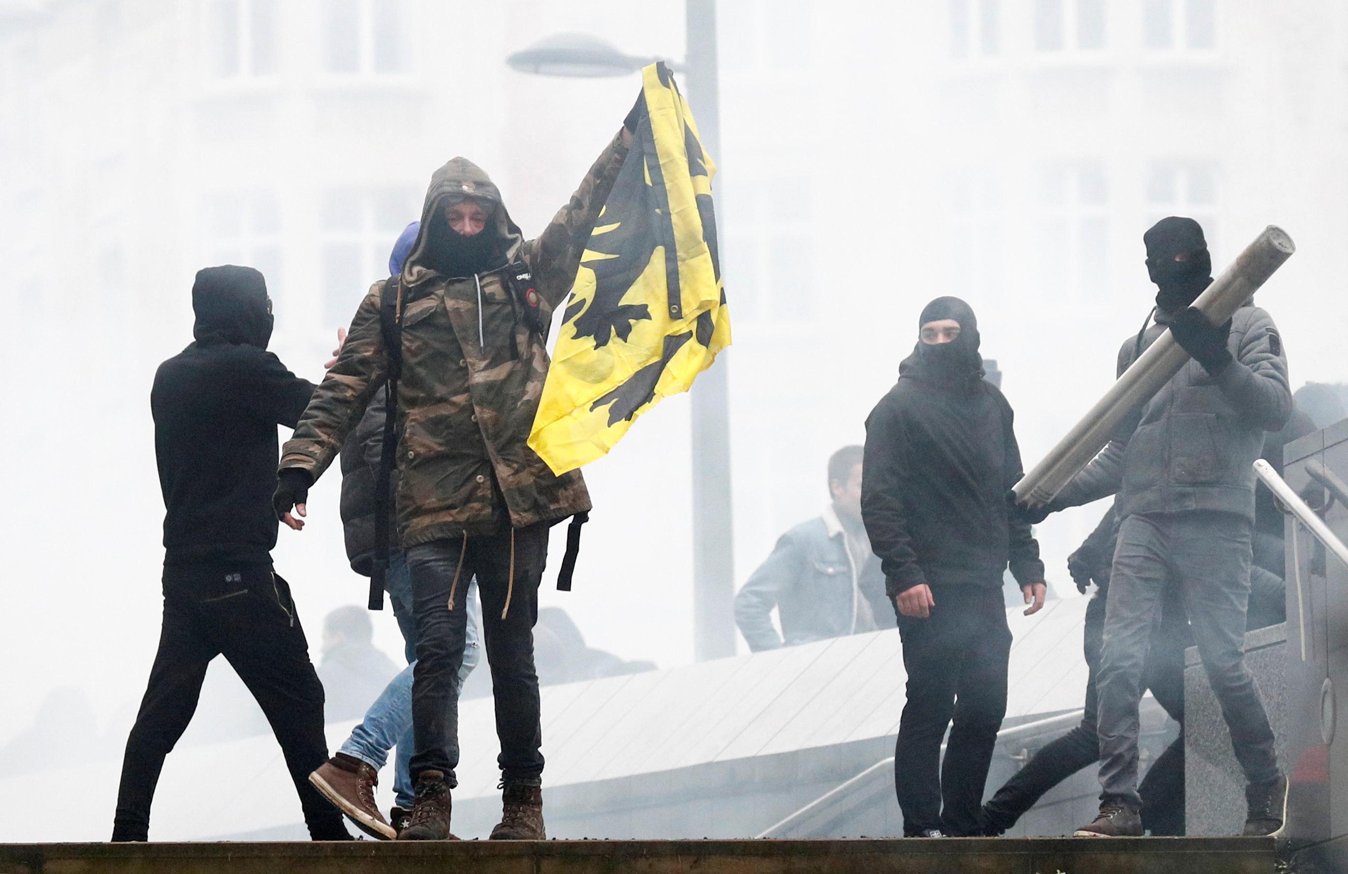 مظاهرات بروكسل (9)