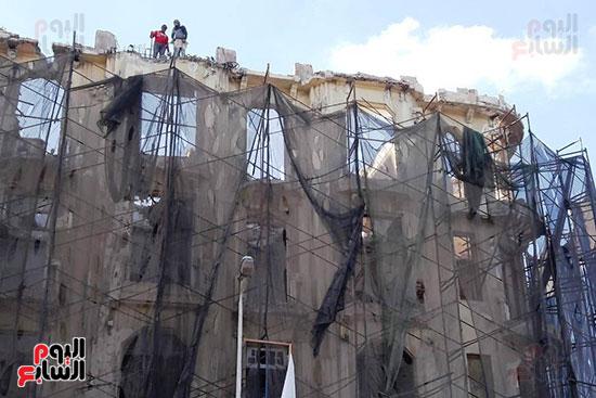 استمرار هدم المبانى التراثية بالإسكندرية (1)