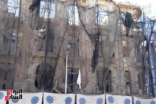 استمرار هدم المبانى التراثية بالإسكندرية (2)