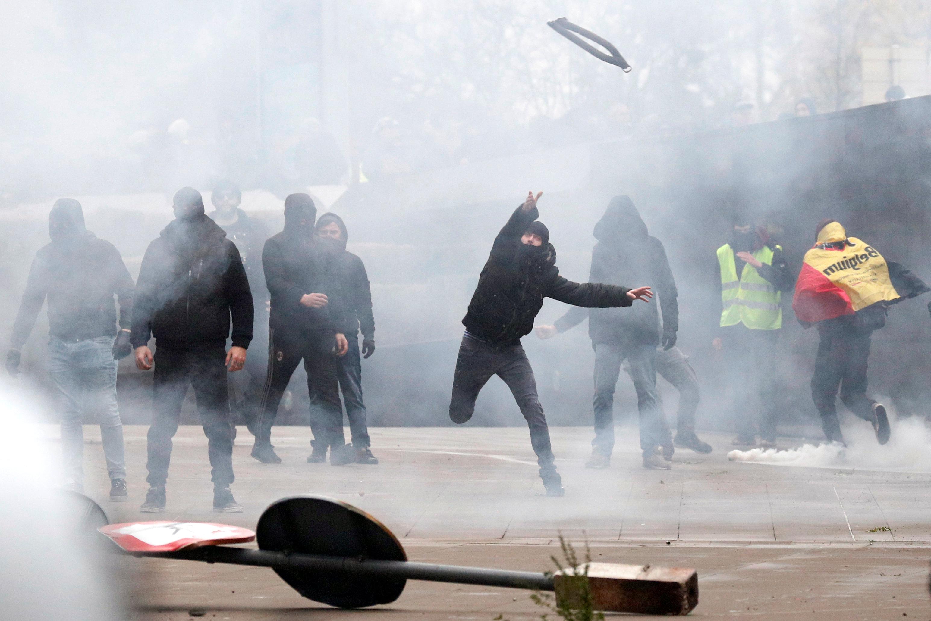 مظاهرات بروكسل (10)