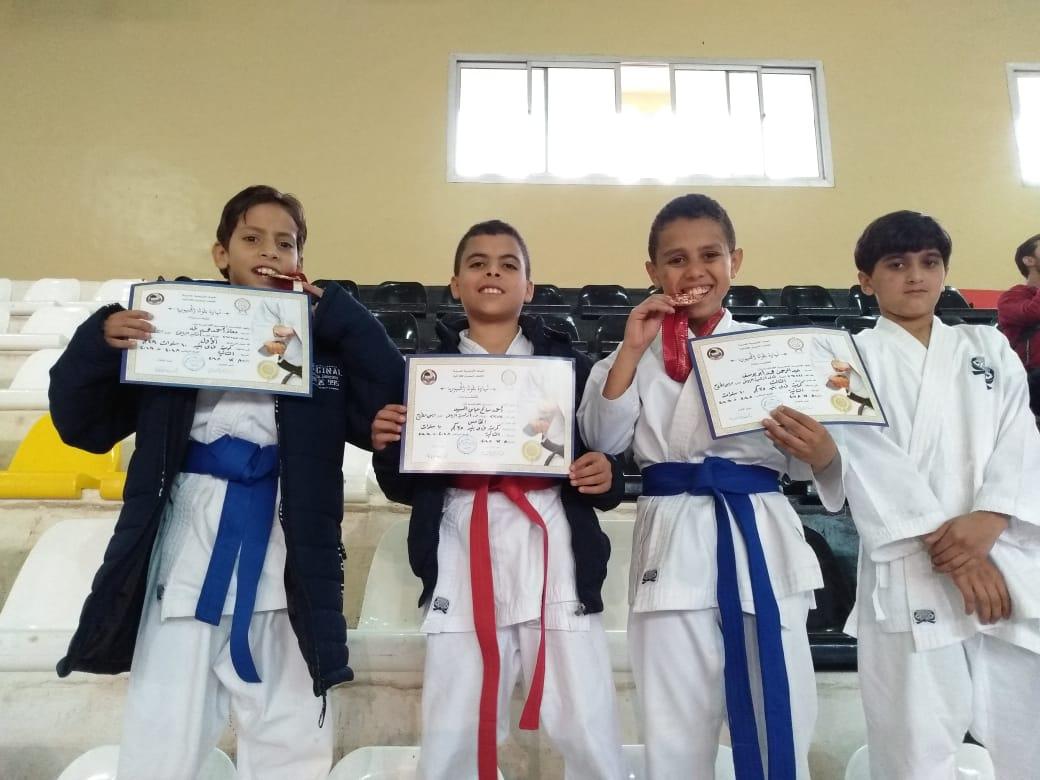 أطفال مطروح يحصدون مراكز متقدمة في بطولة الجمهورية قطاعات للكاراتيه  (4)