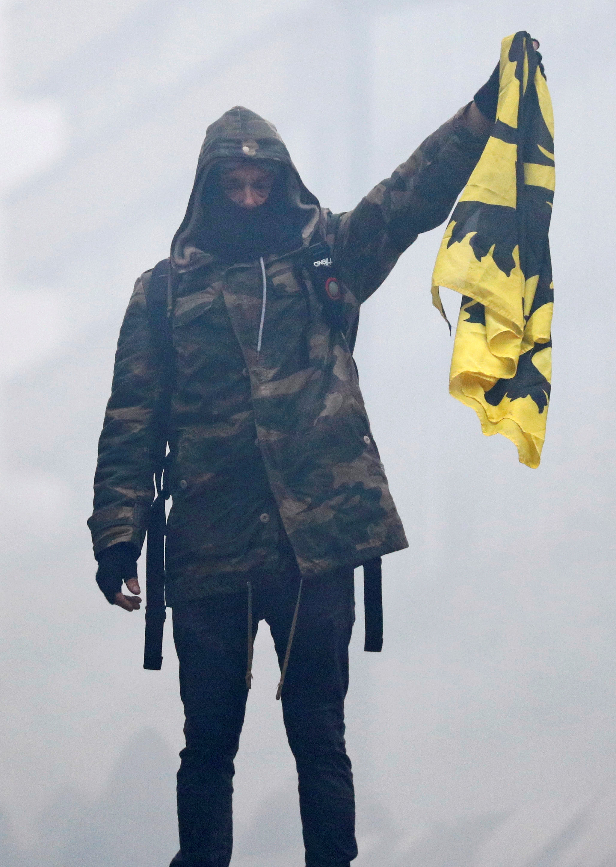 مظاهرات بروكسل (4)