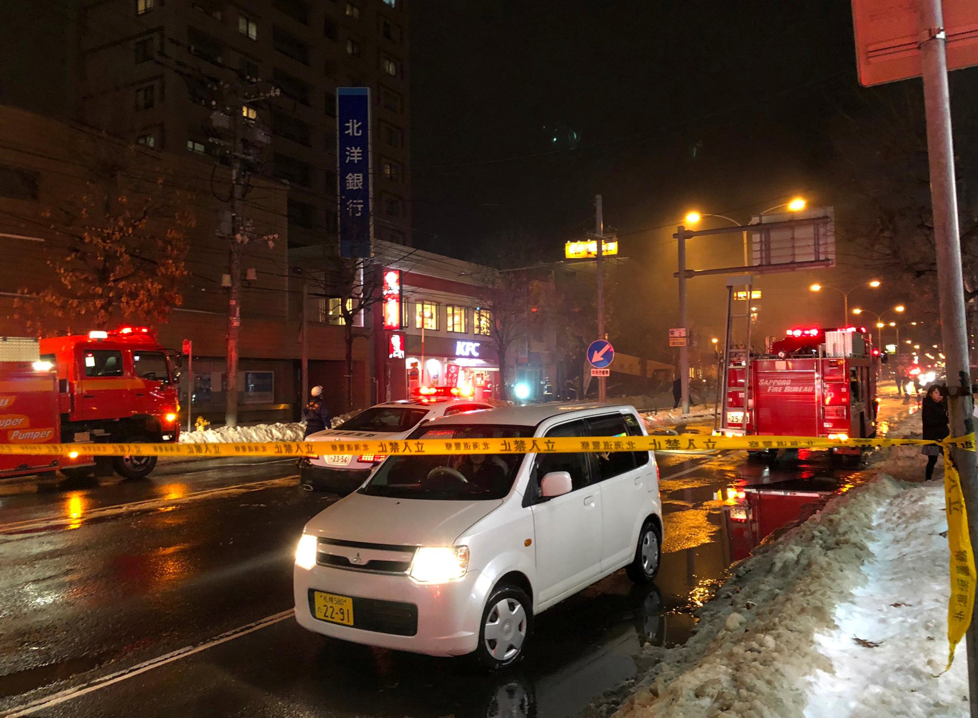 انفجار مطعم شمال اليابان (4)