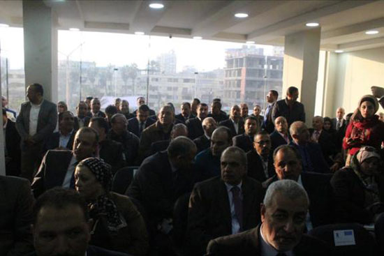 افتتاح مقر حزب مستقبل وطن بالمنصورة