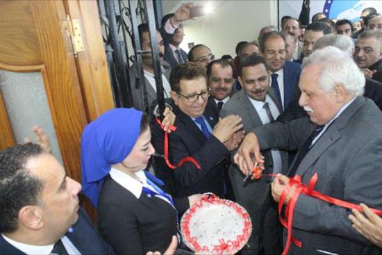 محافظ الدقهلية يشهد افتتاح مقر حزب مستقبل وطن بالمنصورة