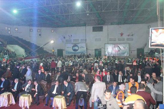 جانب افتتاح مقر حزب مستقبل وطن بالمنصورة