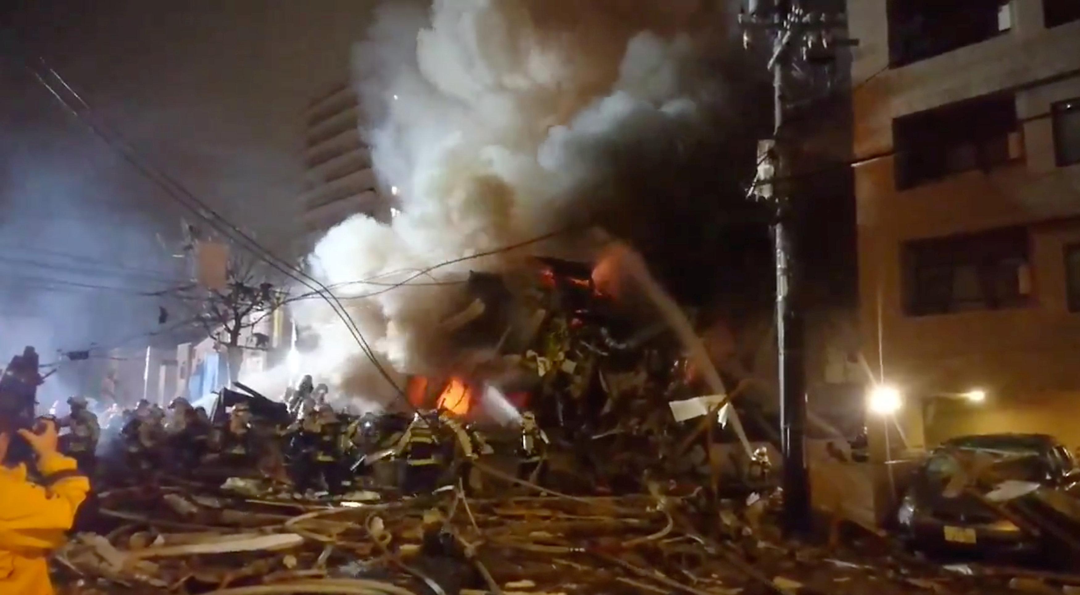 انفجار مطعم شمال اليابان (7)