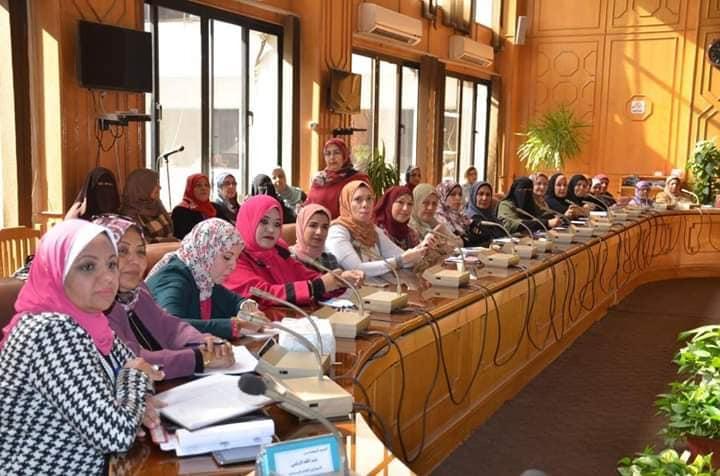 3- عضوات المجلس بالإسماعيلية
