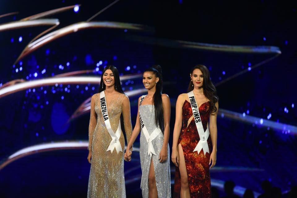ملكة جمال الفلبين، جنوب أفريقيا وفنزويلا استطاعوا الوصول للنهائيات فى المسابقة