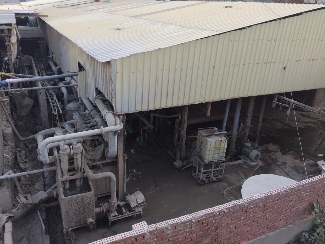 شكوى من التلوث البيئى والسمعى لمصنع للكرتون بطره المعادى  (2)