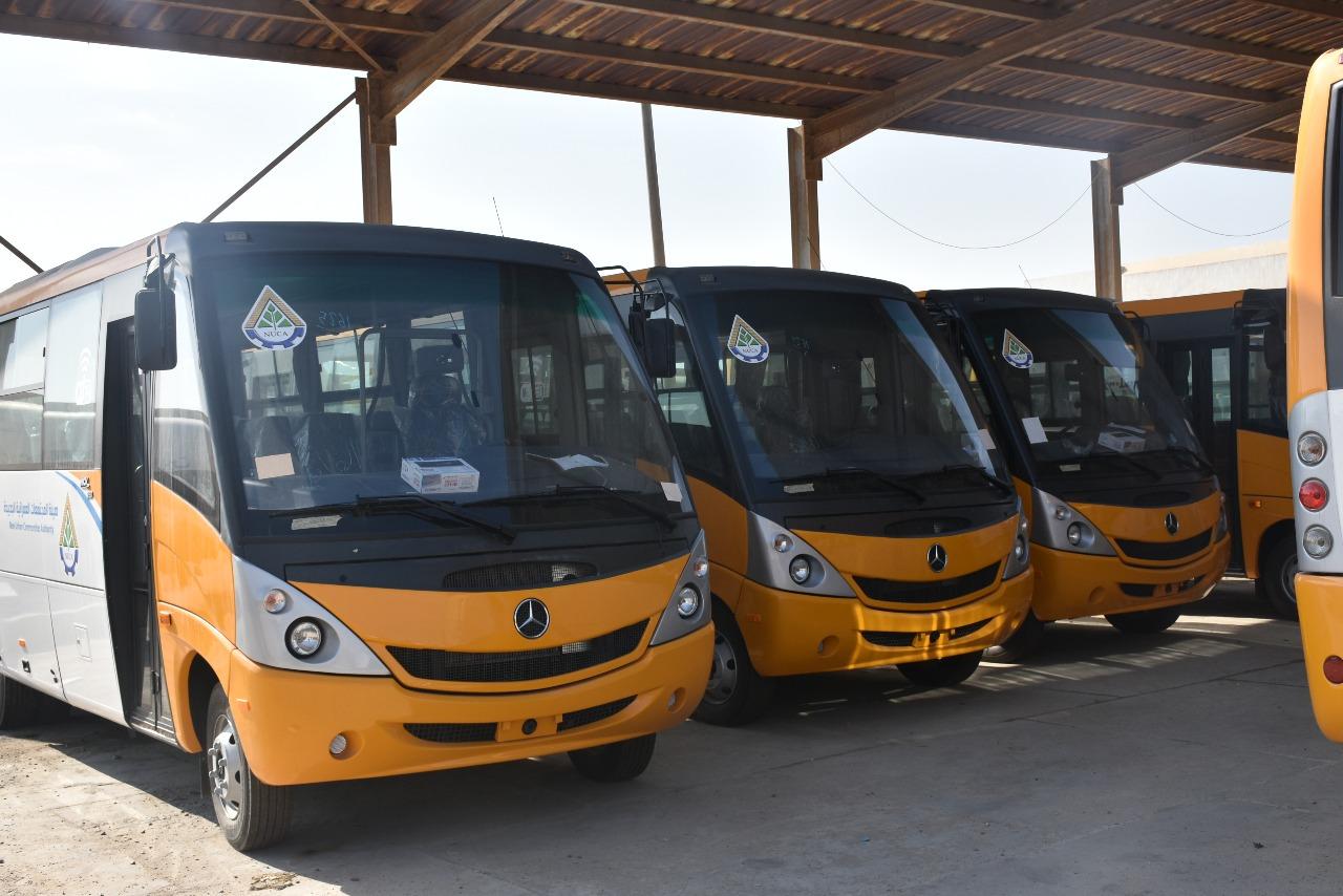 باصات النقل الجديدة (2)