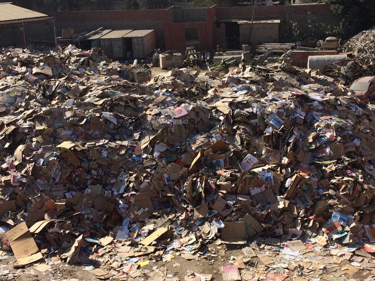 شكوى من التلوث البيئى والسمعى لمصنع للكرتون بطره المعادى  (3)