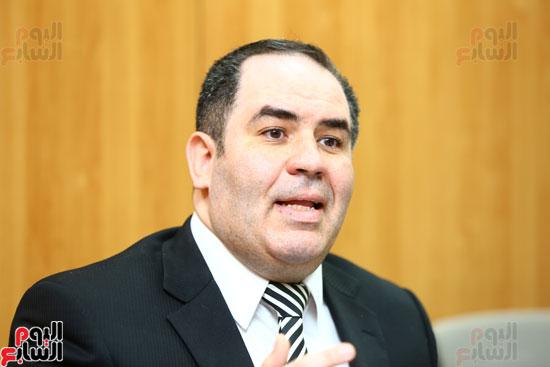 الخبير الاقتصادى إيهاب سعيد عضو مجلس إدارة البورصة المصرية (14)