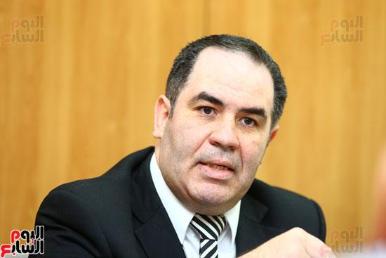 الخبير الاقتصادى إيهاب سعيد عضو مجلس إدارة البورصة المصرية (6)