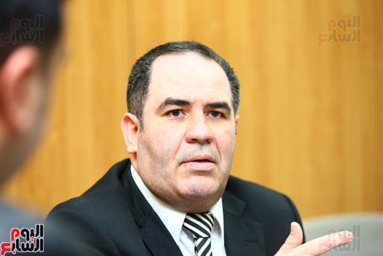 الخبير الاقتصادى إيهاب سعيد عضو مجلس إدارة البورصة المصرية (13)