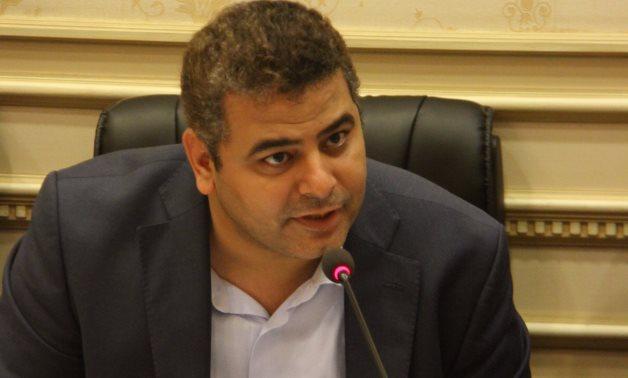 النائب نادر مصطفى، أمين سر لجنة الإعلام والثقافة بمجلس النواب