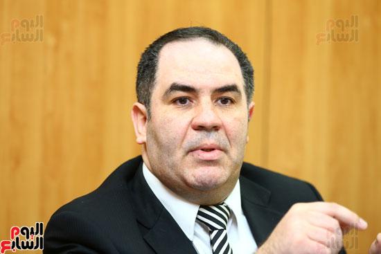 الخبير الاقتصادى إيهاب سعيد عضو مجلس إدارة البورصة المصرية (5)