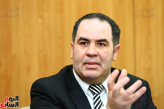 الخبير الاقتصادى إيهاب سعيد عضو مجلس إدارة البورصة المصرية (10)