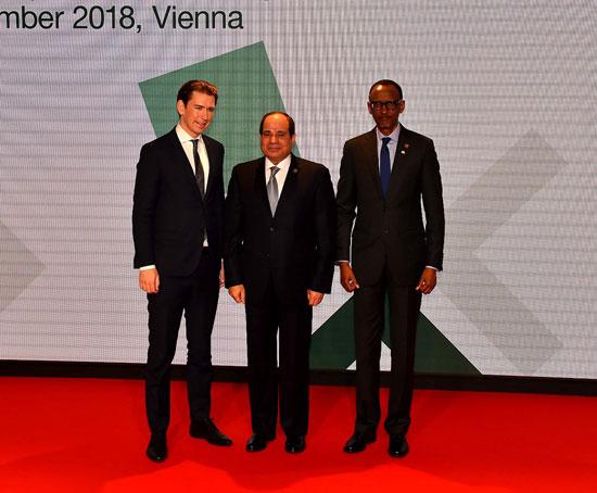 الرئيس السيسى بمنتدى فيينا (3)