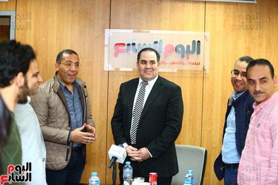 الخبير الاقتصادى إيهاب سعيد عضو مجلس إدارة البورصة المصرية (1)