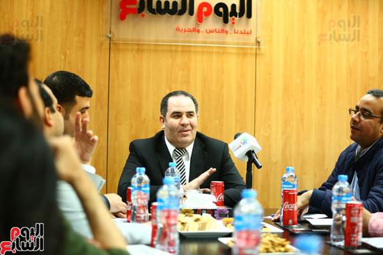 الخبير الاقتصادى إيهاب سعيد عضو مجلس إدارة البورصة المصرية (3)