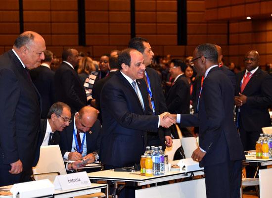 الرئيس السيسى بمنتدى فيينا (2)
