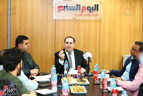 الخبير الاقتصادى إيهاب سعيد عضو مجلس إدارة البورصة المصرية (11)
