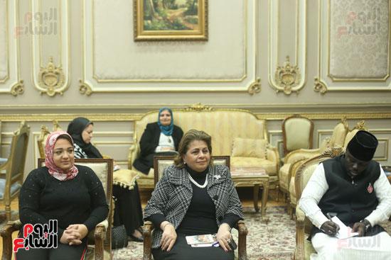استقبال سفير نيجريا بالبرلمان (9)