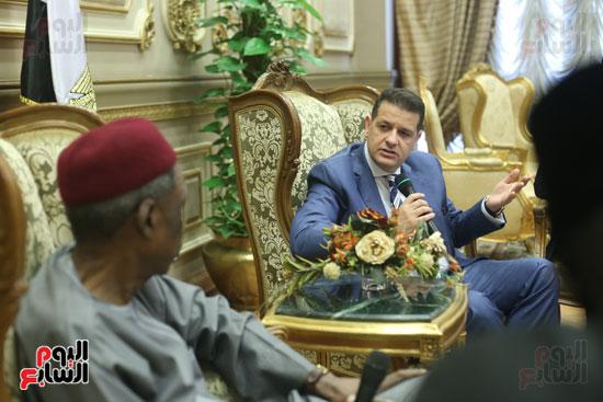 استقبال سفير نيجريا بالبرلمان (5)