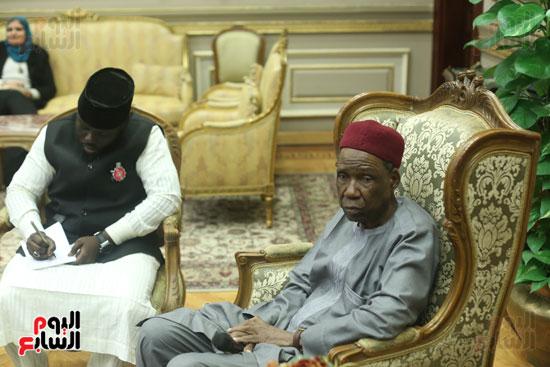 استقبال سفير نيجريا بالبرلمان (8)