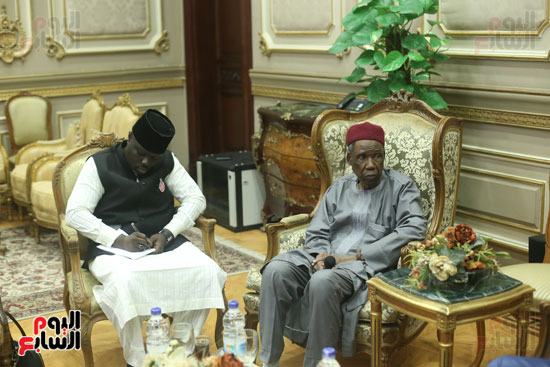 استقبال سفير نيجريا بالبرلمان (7)
