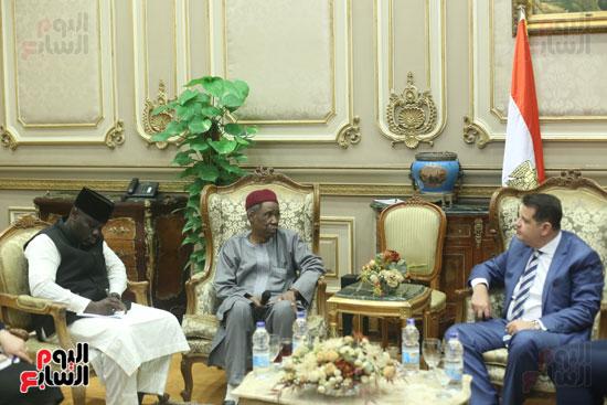 استقبال سفير نيجريا بالبرلمان (10)