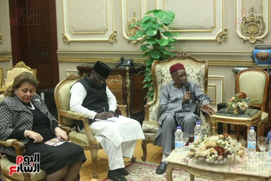 استقبال سفير نيجريا بالبرلمان (3)