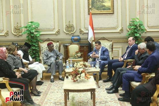 استقبال سفير نيجريا بالبرلمان (4)