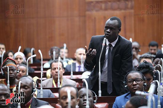 صور  لجنة الشئون الافريقية (8)
