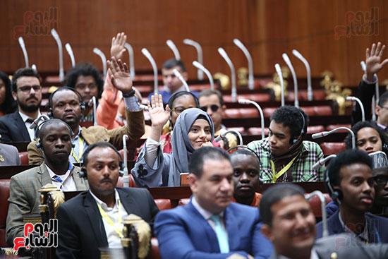 صور  لجنة الشئون الافريقية (4)