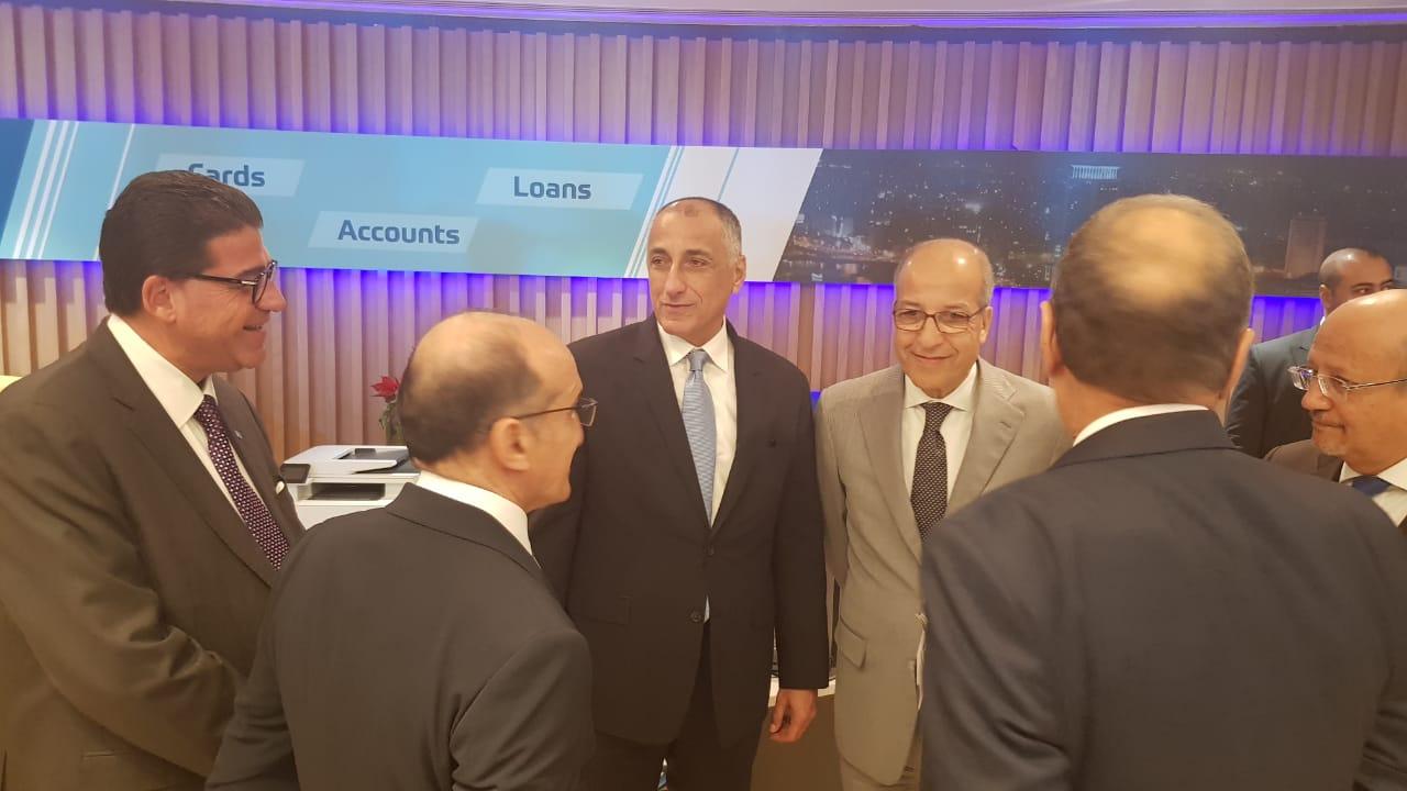 طارق عامر خلال افتتاح بنك ABC مصر