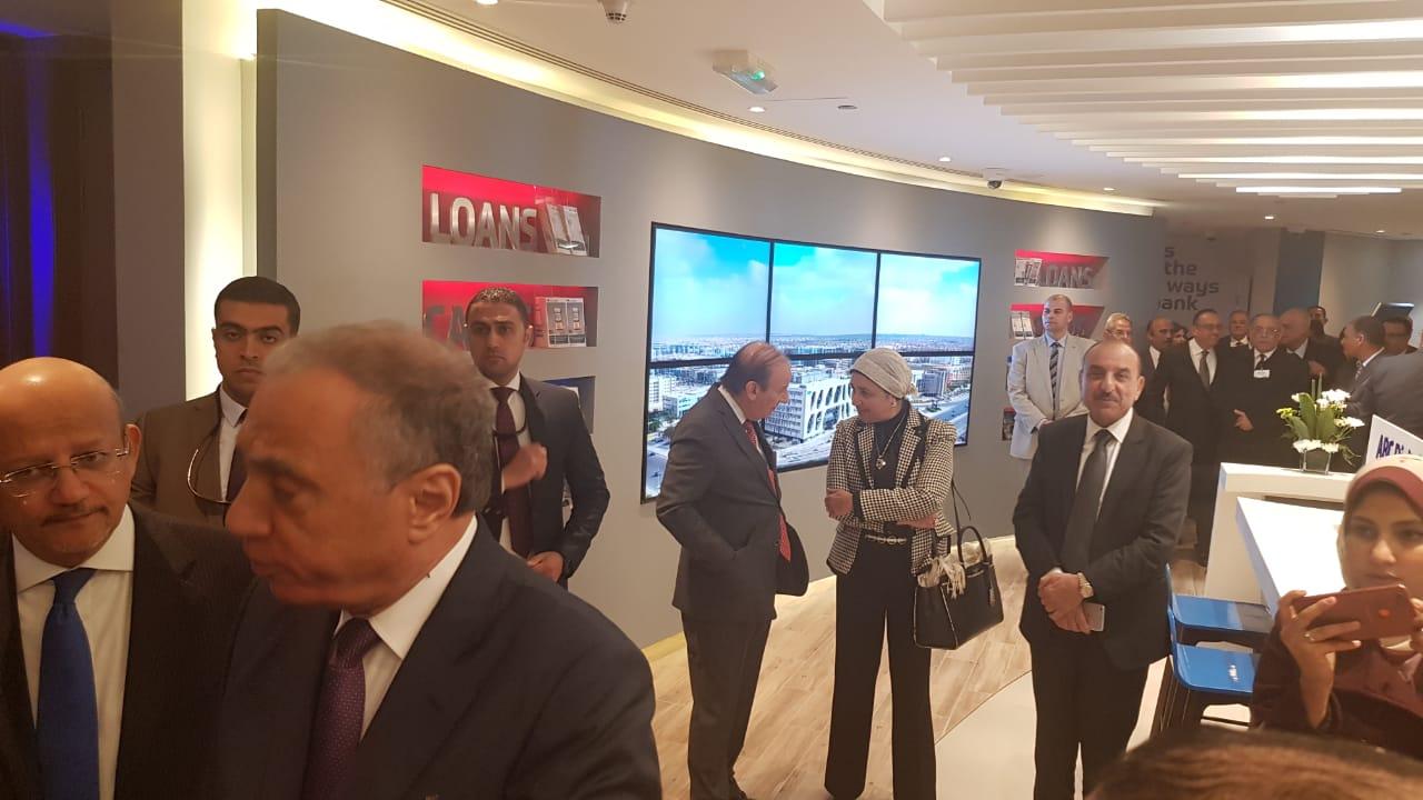 جانب من المشاركين بافتتاح المقر الرئيسى لبنك ABC مصر