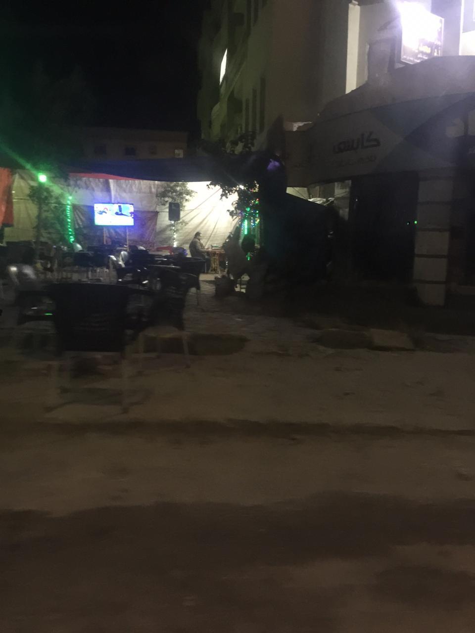 قهوة بمدينة العبور