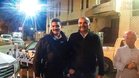 حملة إشغالات ليلية على المقاهى المخالفة بمدينة العياط (16)
