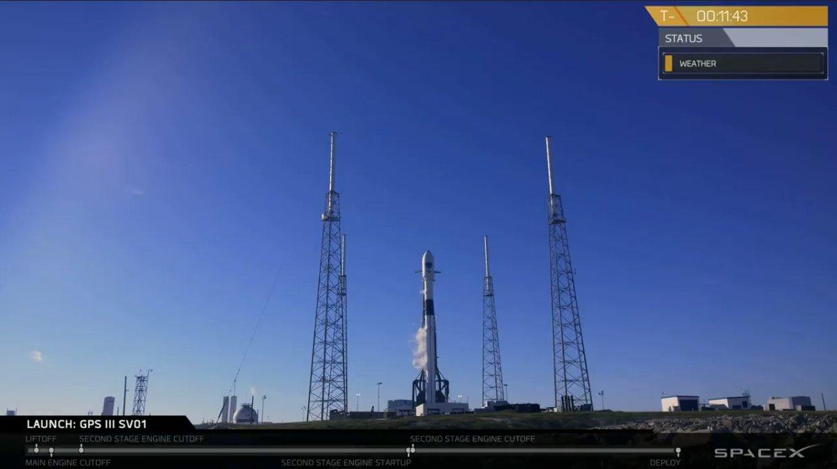 سبيس إكس تؤجل إطلاق مركبة فضائية من الجيل الثالث