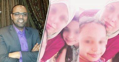 نجل مرسى أبو العباس بصحبة أسرته قبل الحادثة