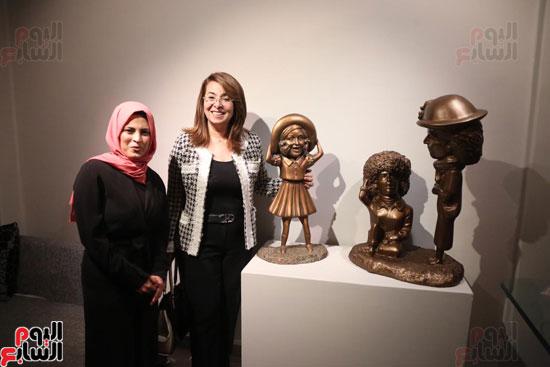 معرض تياترو للفنانة مى عبد الله (4)