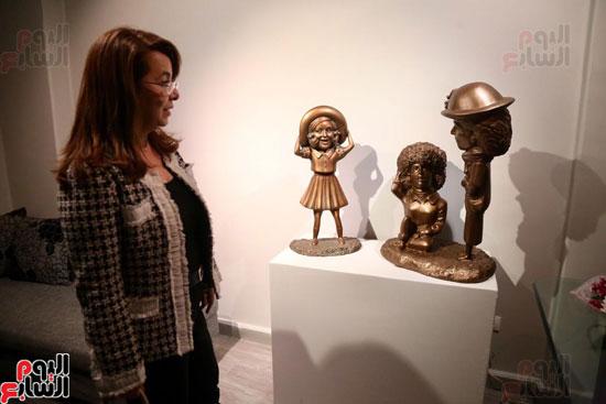 معرض تياترو للفنانة مى عبد الله (5)