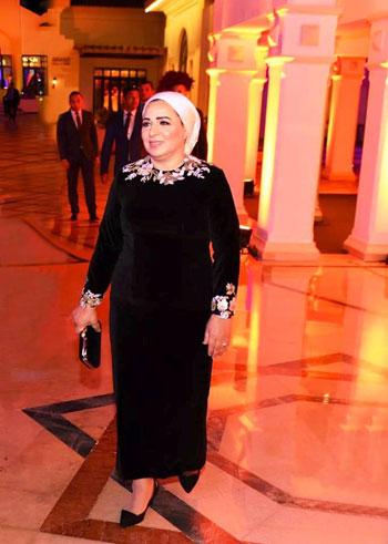 السيدة إنتصار السيسى قرينة رئيس الجمهورية (7)