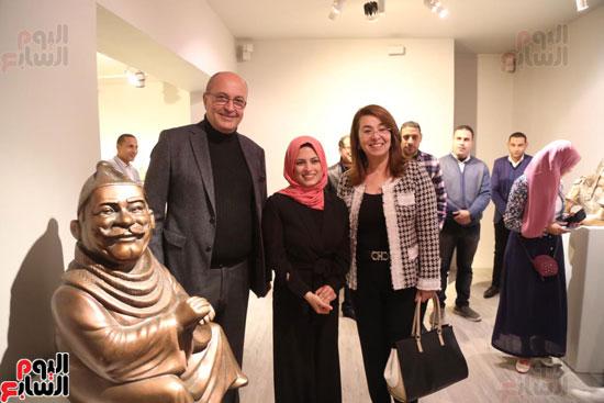 معرض تياترو للفنانة مى عبد الله (1)