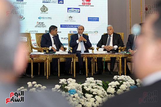 مؤتمر أخبار اليوم الاقتصادي الخامس جلسة الاستثمار فى سيناء (16)