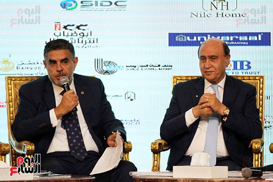 مؤتمر أخبار اليوم الاقتصادي الخامس جلسة الاستثمار فى سيناء (11)